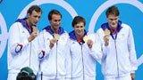 伦敦奥运第26金 男子4x100米自由泳法国