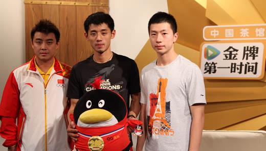 专访乒乓球男团 张继科:没有女友 只喜欢C罗