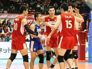 中国男排3-1委内瑞拉