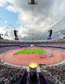 奥运田径比赛场360全景图