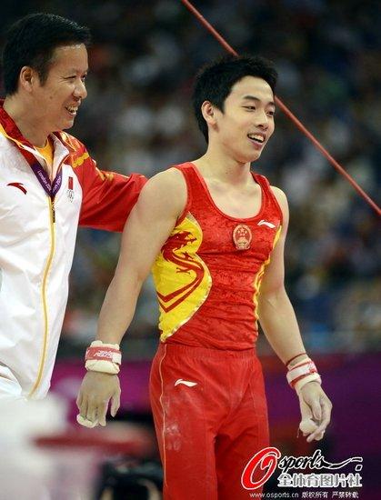 男子单杠邹凯摘铜 荷兰名将高分夺金德国第二