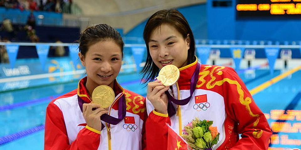 何姿/吴敏霞女子双人3米板夺冠