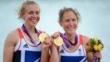 伦敦奥运第116金 女子轻量级双人双桨英国队