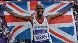 伦敦奥运第268金 男子5000米 法拉