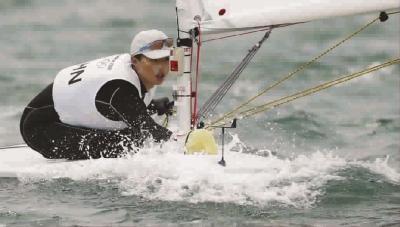 """从上海走来的""""海的女儿"""" 徐莉佳夺帆船冠军"""