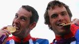 伦敦奥运第77金 男子双人划艇决赛英国队