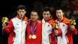 中国乒乓球男团