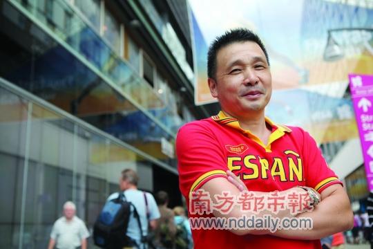 50岁乒乓老将曾是蔡振华队友 参奥不追求名誉
