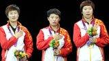 伦敦奥运第188金 乒乓球女子团体 中国队