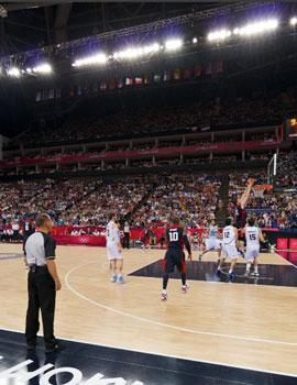 奥运篮球比赛360全景图(2)