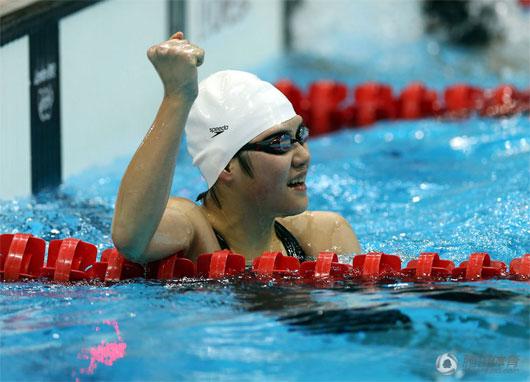 叶诗文:没想过破世界纪录夺冠 要继续拿金牌