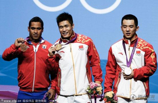 男举77KG吕小军双破世界纪录夺冠 陆浩杰摘银