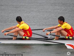 男子双人双桨中国C组第三