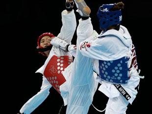 女子67KG级 韩国选手夺冠