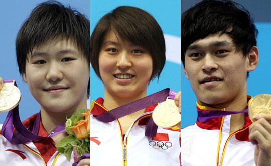 游泳总结:美国狂揽16金 中国5金2银3铜创历史