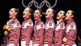 伦敦奥运第296金 艺术体操集体全能赛 俄罗斯