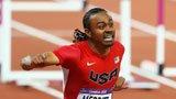 伦敦奥运第212金 男子110米栏 梅里特