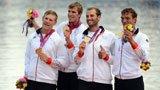 伦敦奥运第92金 赛艇男子四人双桨德国队