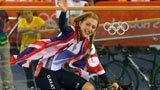 伦敦奥运第190、192金 场地自行车 英国