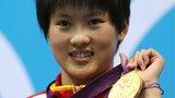 伦敦奥运第228金 女子跳水10米台 陈若琳