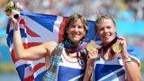 伦敦奥运第94金 赛艇女子双人双桨英国队