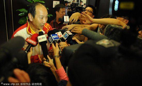 孙海平:刘翔伤情不断反复 跟腱断裂位置意外