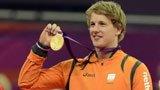 伦敦奥运第185金 体操男子单杠 荣德兰德