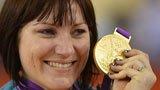 伦敦奥运第191金 自行车女子争先赛米尔斯