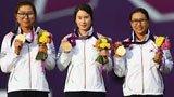 伦敦奥运第20金 射箭女子团体韩国