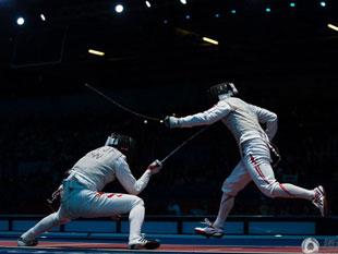 男子花剑团体中国获第7名