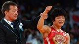 伦敦奥运第208金 女子自由式摔跤48公斤级 小原日登美