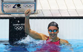 女子200米蛙泳决赛 索尼破世界纪录摘金