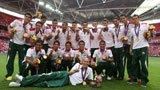 伦敦奥运第264金 男子足球 墨西哥队