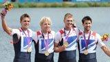 伦敦奥运第115金 赛艇男子四人单桨英国队