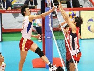 中国男排2-3韩国