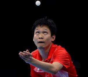 中国香港乒乓球男团获第四
