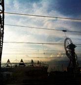 奥运・日落