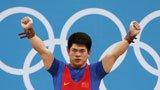 伦敦奥运第52金 男子举重69kg林清峰