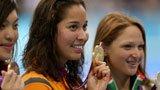 伦敦奥运第91金 女子100米自由泳克罗姆维德秋