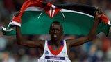 伦敦奥运第159金 男子3000米障碍 肯鲍伊