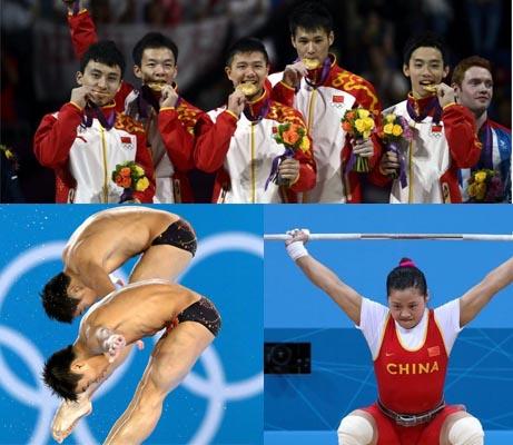 第3日综述:体操男团零失误卫冕 中国3天9金