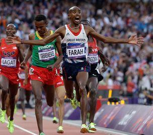5000米英国选手法拉赫夺冠