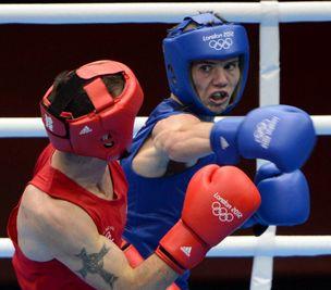 拳击男子56KG级 英国选手夺冠