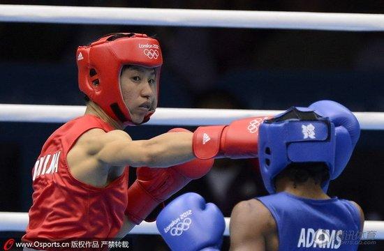 任灿灿点负东道主选手 摘中国女拳首枚银牌