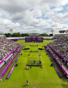 奥运射箭比赛360全景图