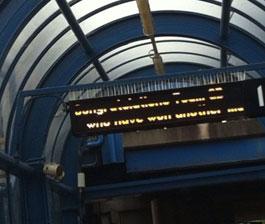 伦敦地铁站