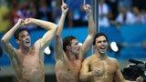 伦敦奥运第53金 男子4X200米自由泳美国队