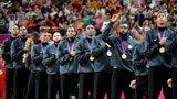 伦敦奥运第300金 男子篮球 美国队