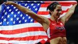 伦敦奥运第179金 女子撑竿跳高 舒尔