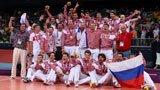 伦敦奥运第297金 男子排球 俄罗斯队